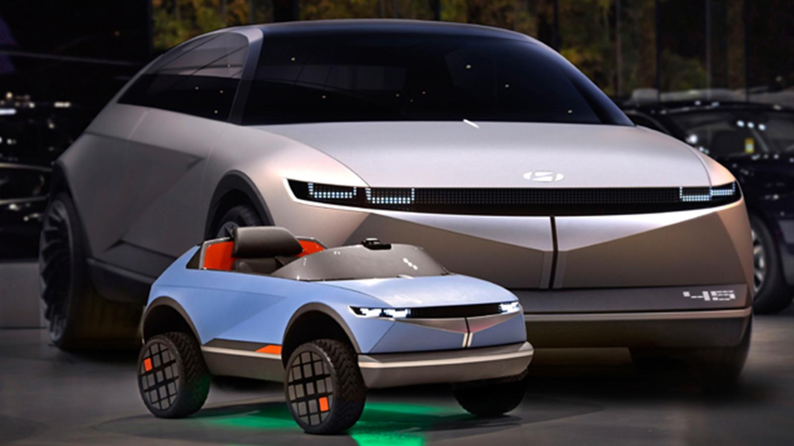 현대 EV 콘셉트 45 어린이 전동차