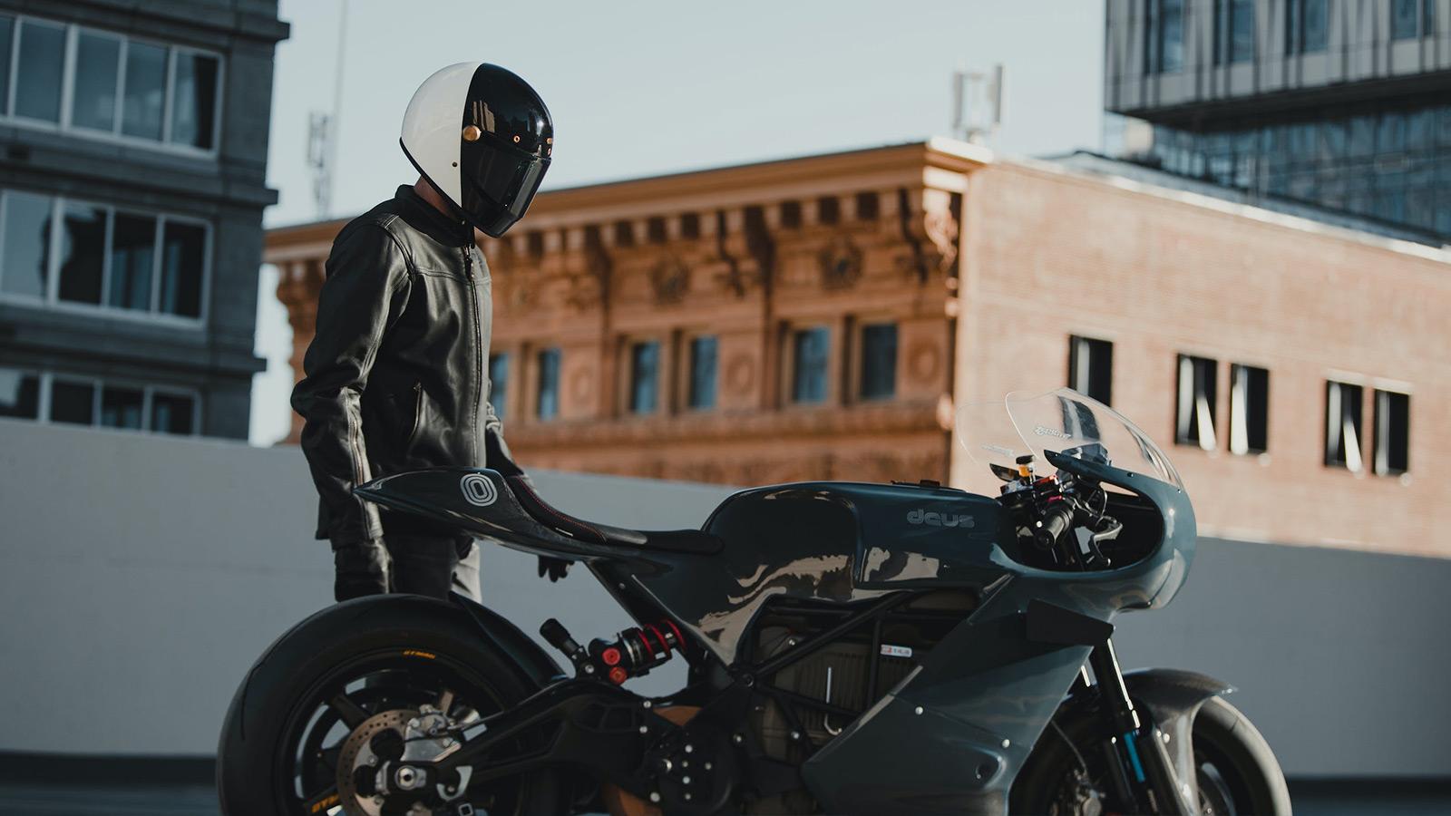 Zero Motorcycles x Deus ex Machina Electric Motorcycle