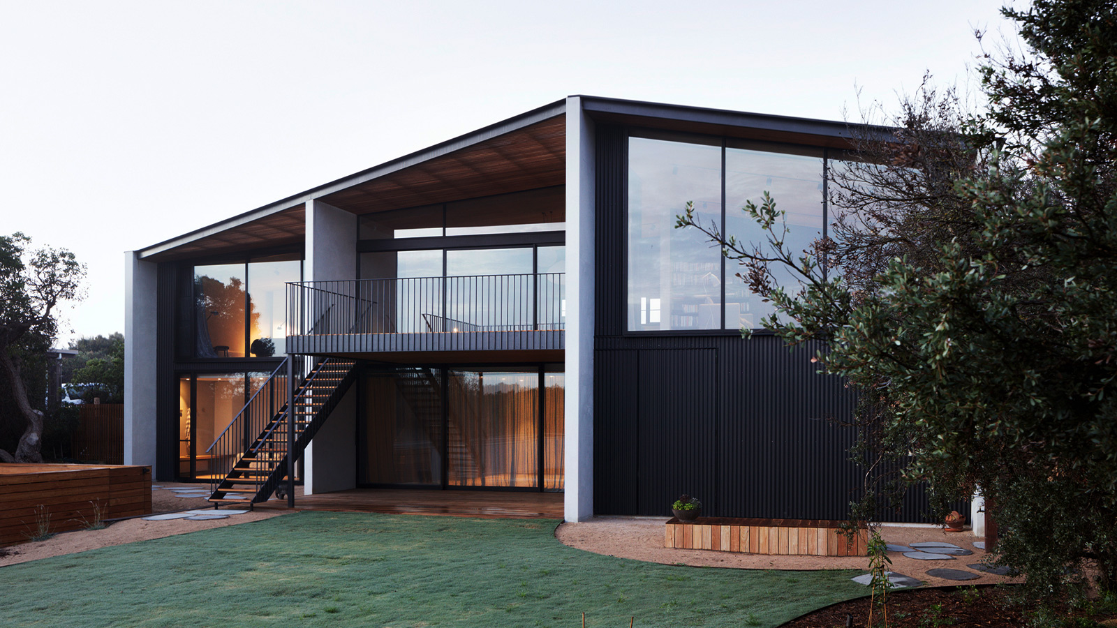 Barwon Heads House by Lovell Burton Architecture