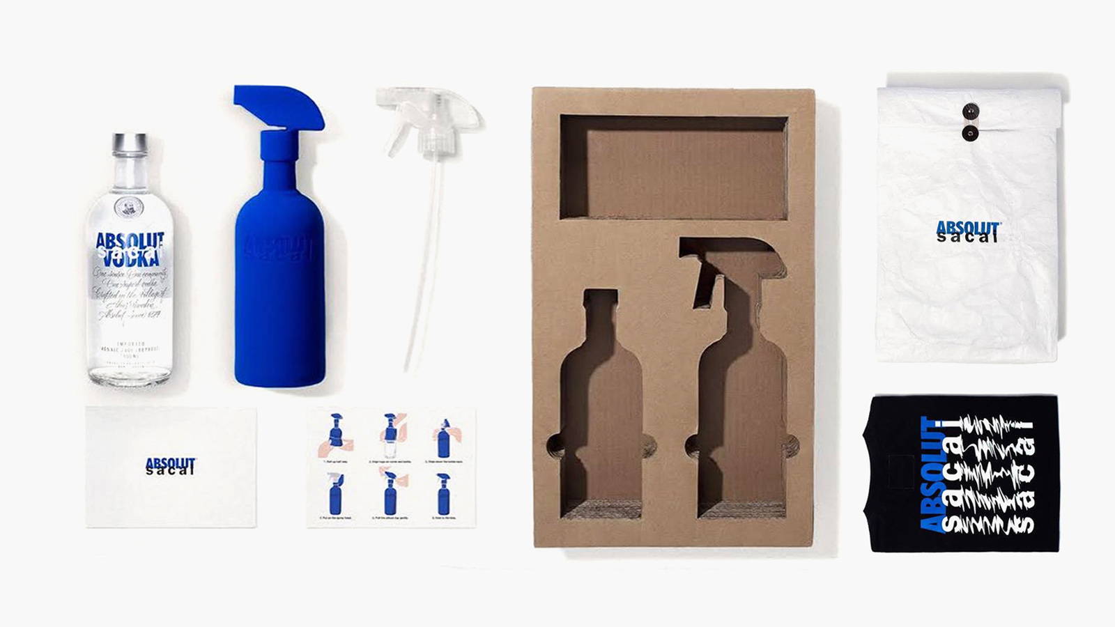 Absolut Vodka x sacai Special Package