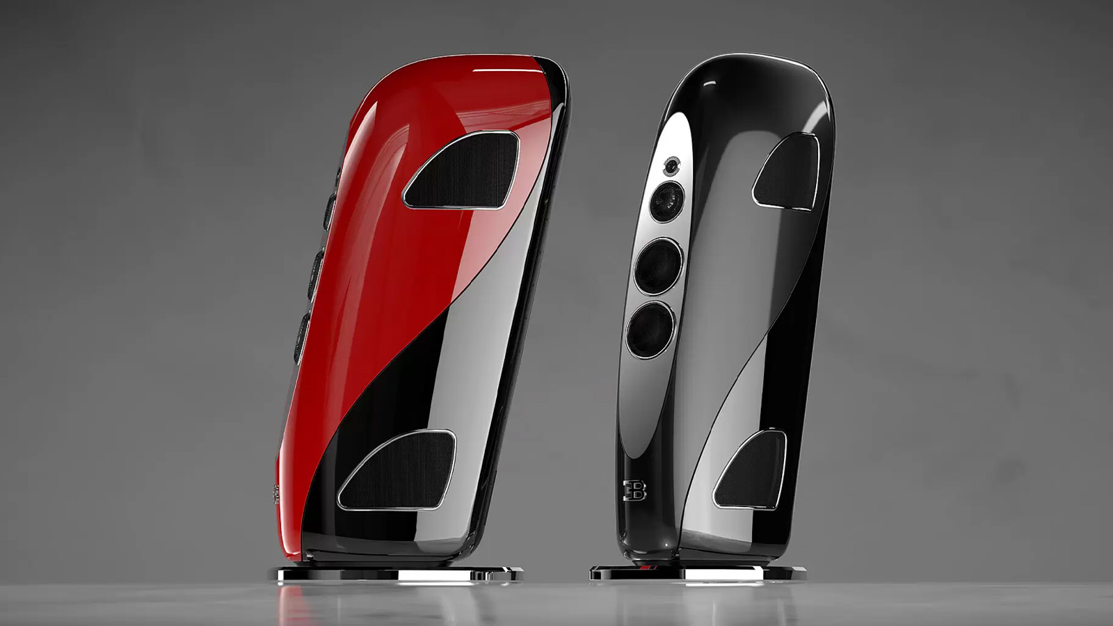 Bugatti x Tidal Audio Royale Speaker