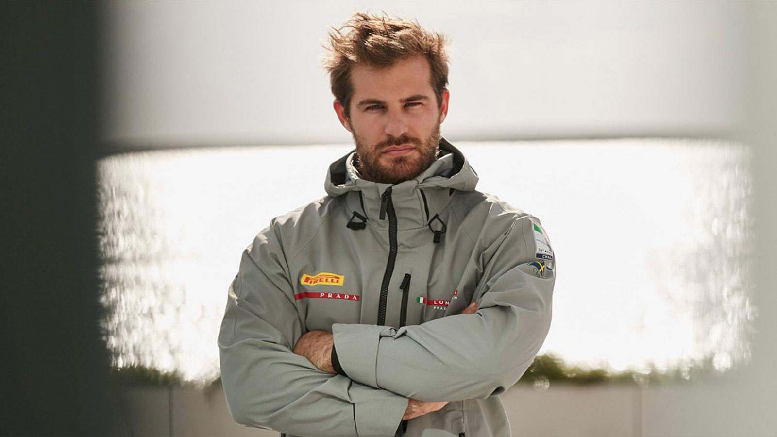 Luna Rossa Prada Pirelli Wool-Rich Sailing Jacket