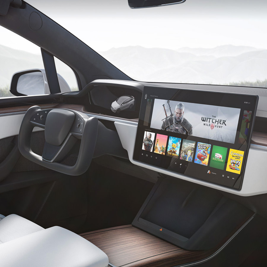 2021 Tesla Model S and X