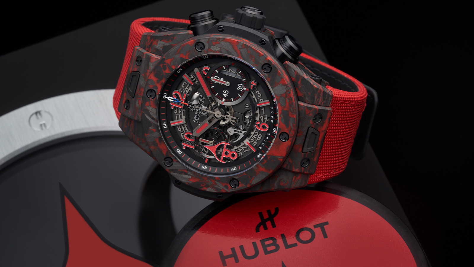 2021 Hublot Big Bang Unico Red Carbon Alex Ovechkin