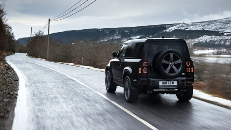 2022 Land Rover Defender Flexes 518-HP Worth Of ...