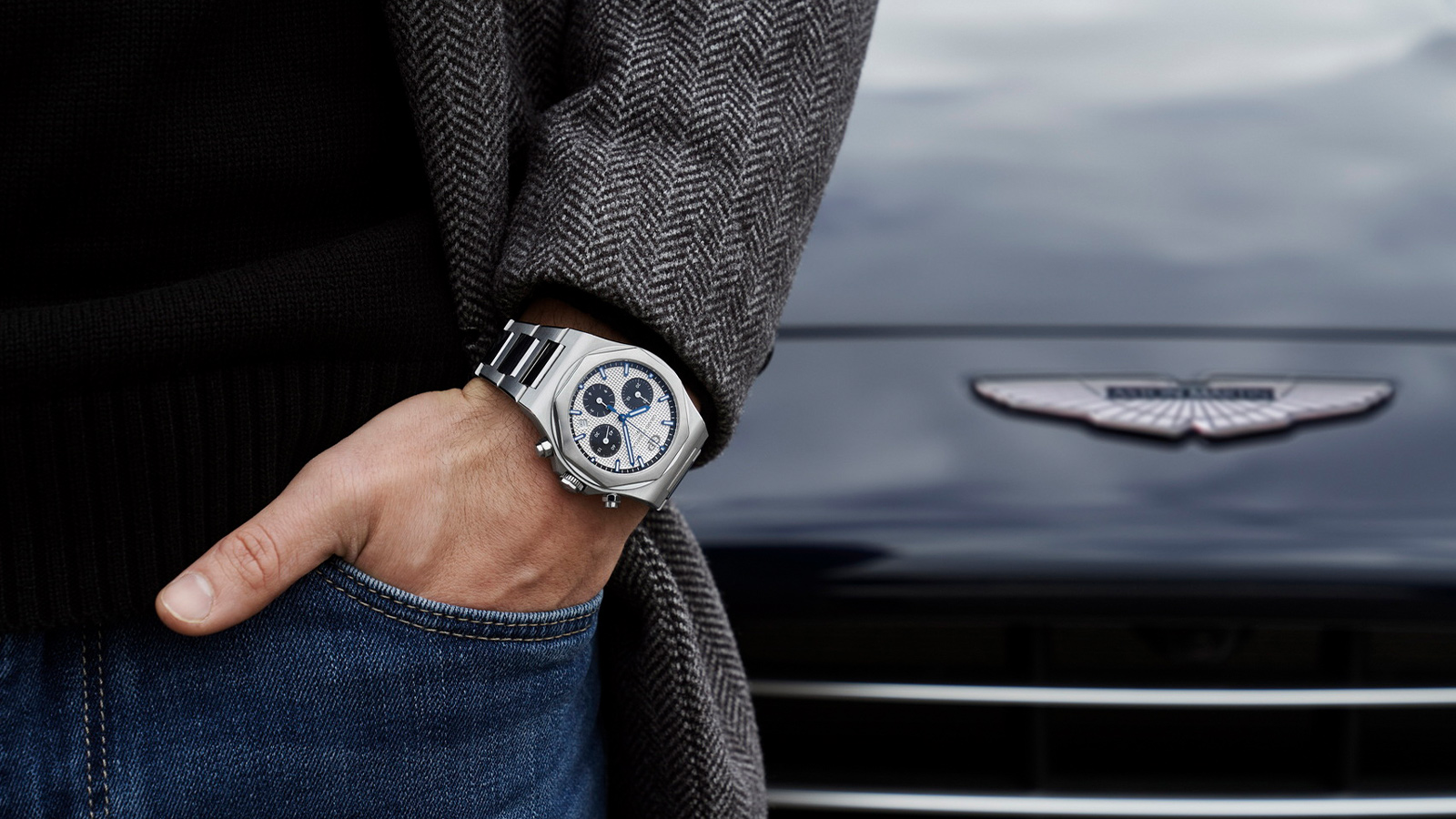 Aston Martin Partners With Girard-Perregaux As Official Watch Partner