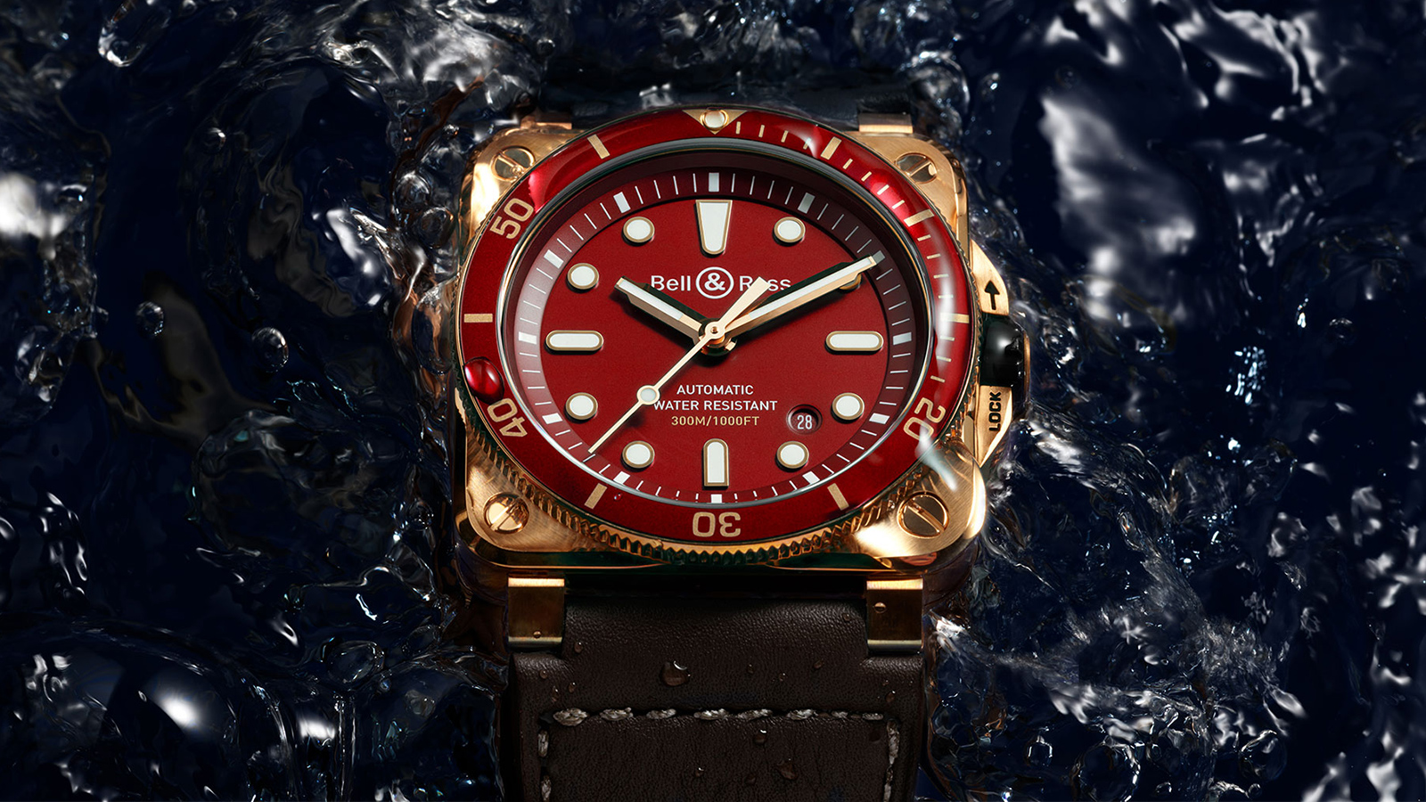 Bell & Ross br 03-92 Diver Red  Bronze