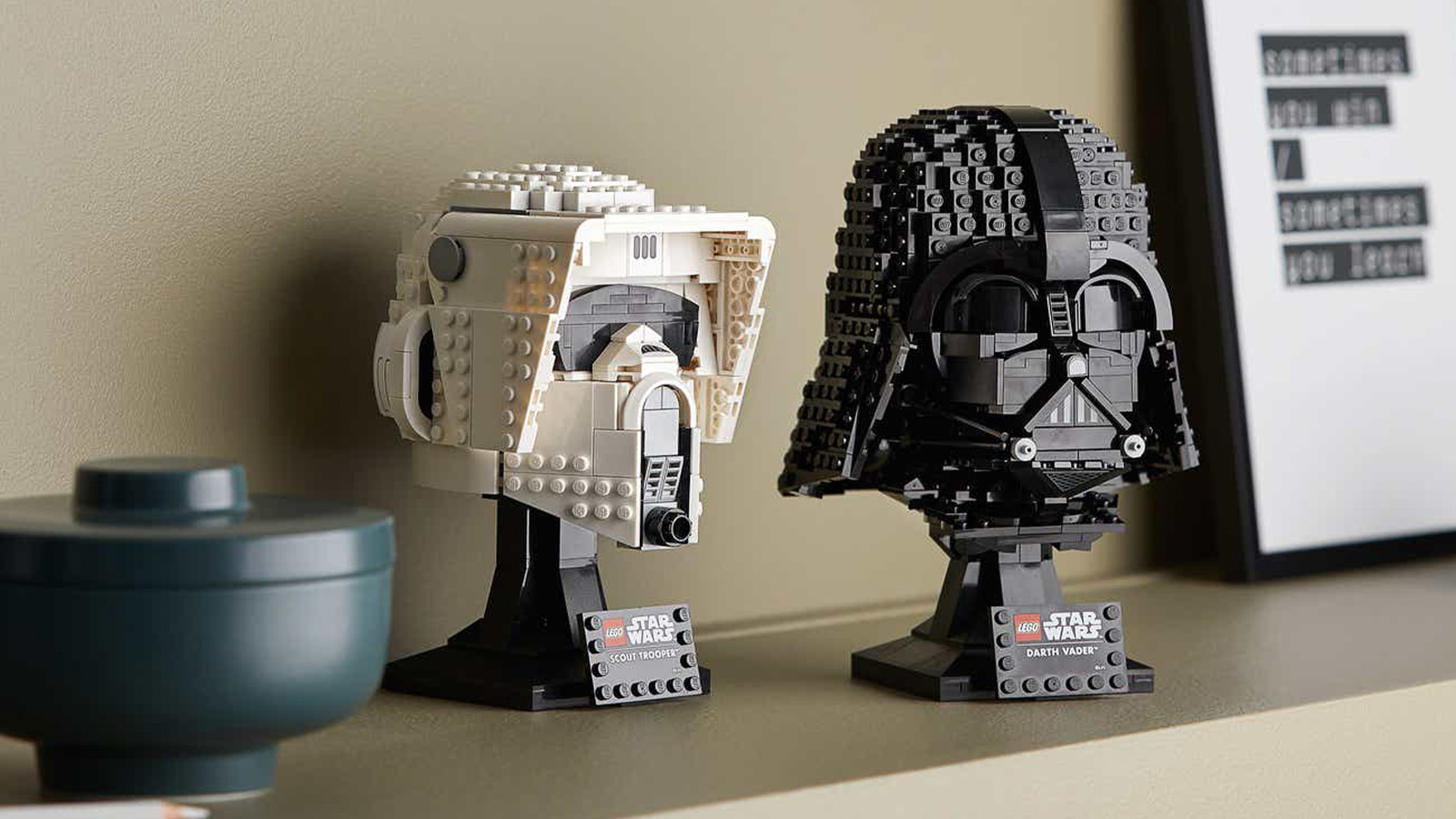 LEGO Star WarsHelmet and Droid Construction Sets