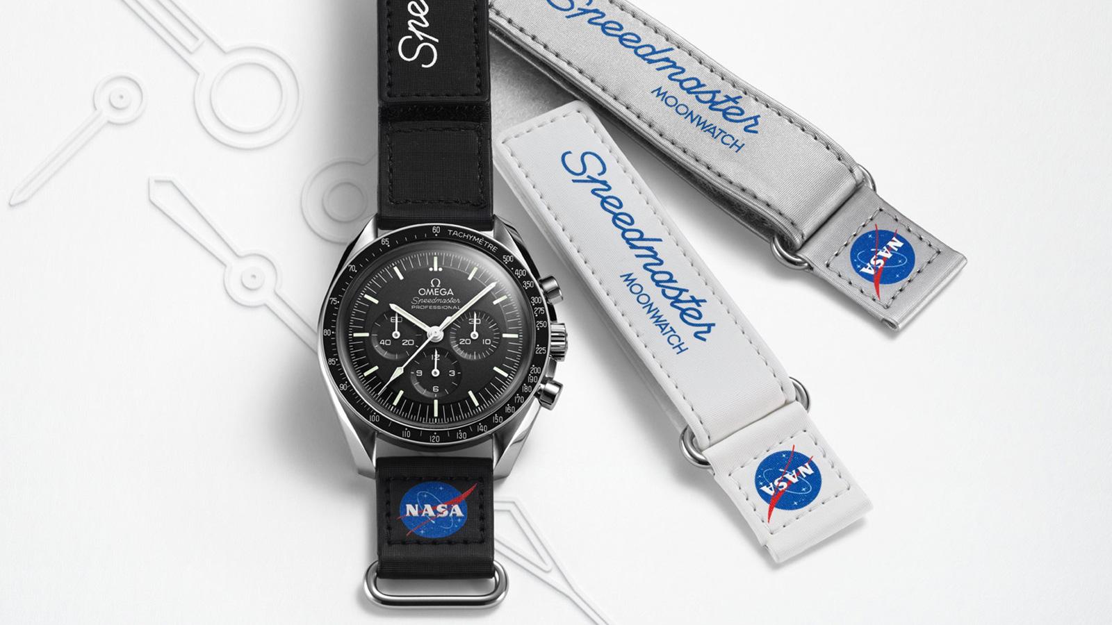 Omega Speedmaster Moonwatch VELCRO Strap