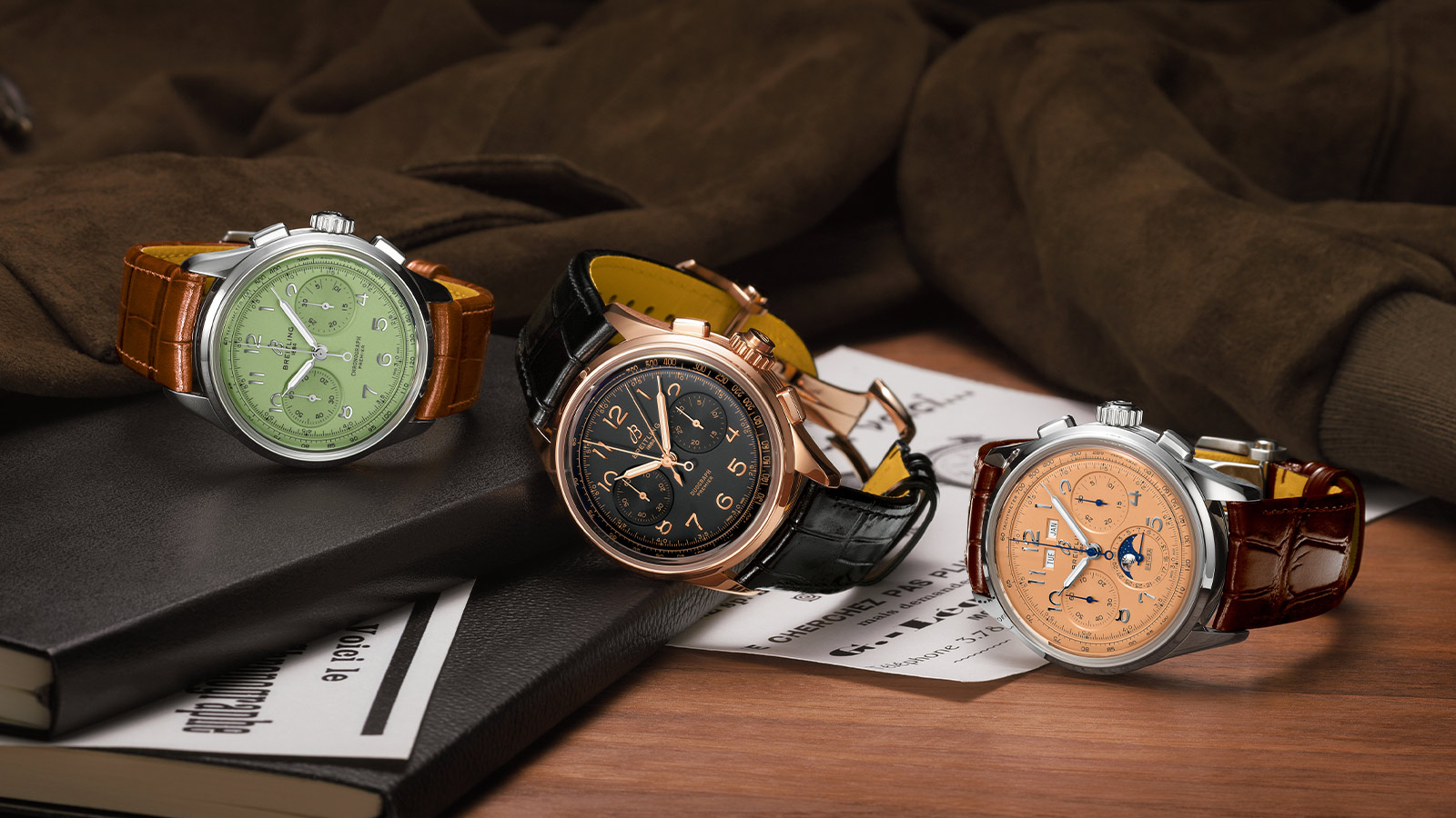 Breitling Premier Heritage Collection