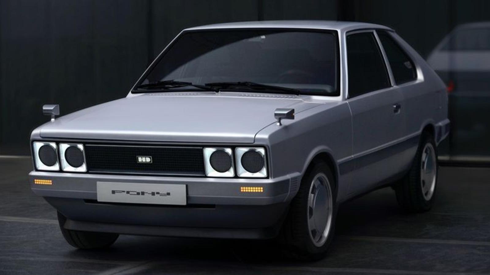 HyundaiPony EV