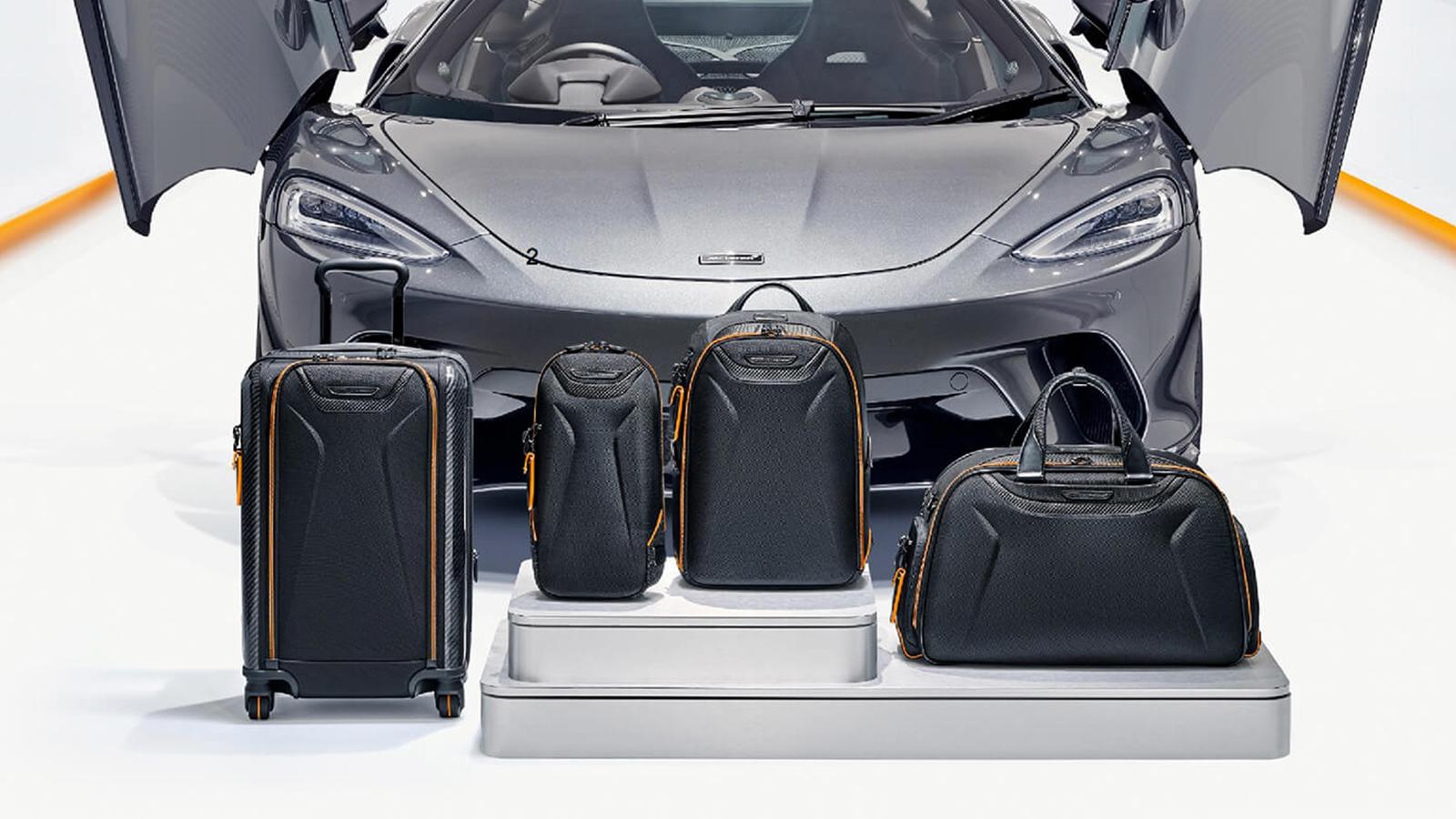 TUMI x McLaren Bag Collection