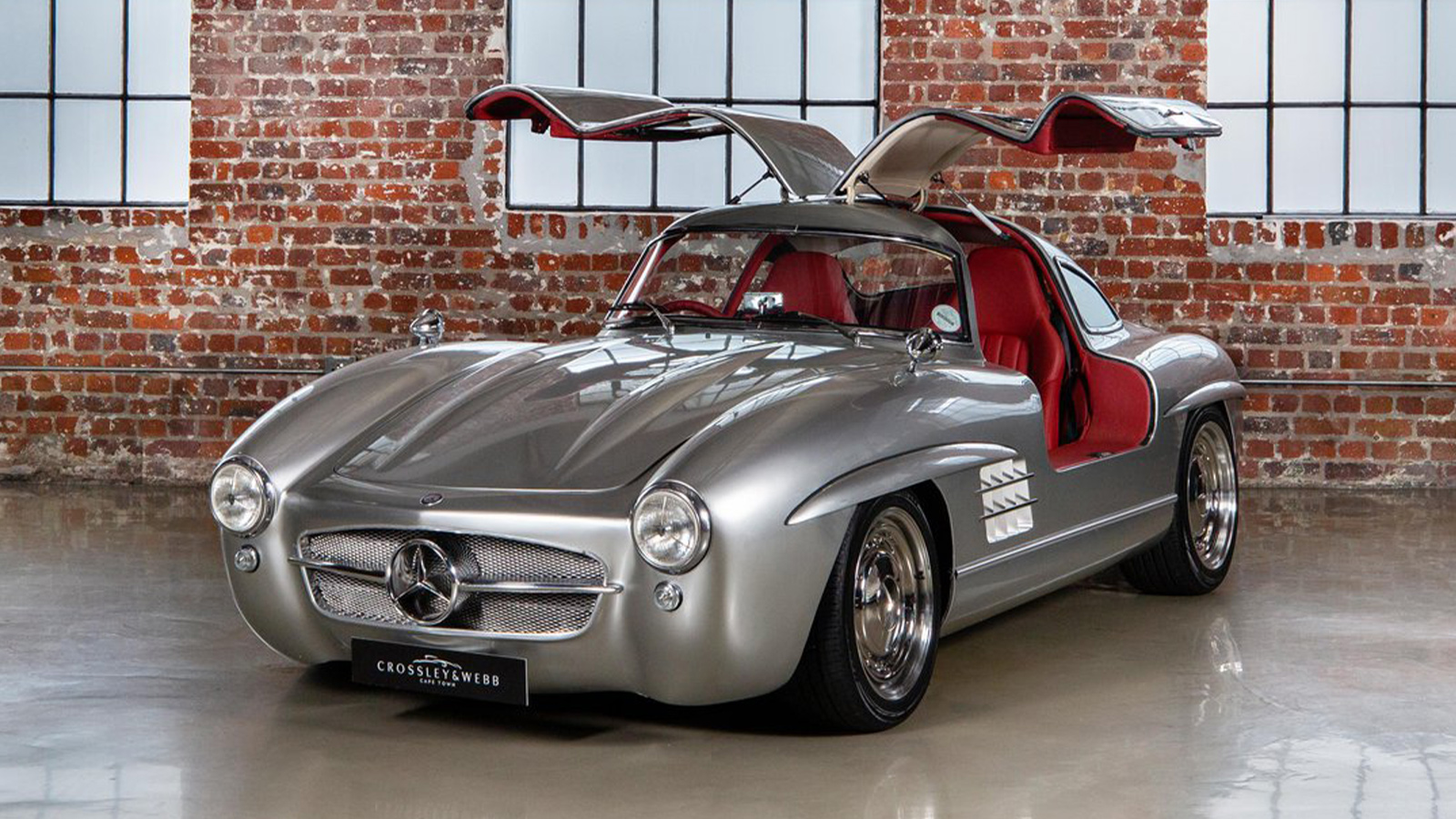 2001 Mercedes Benz SLK 32 AMG Gullwing Tribute