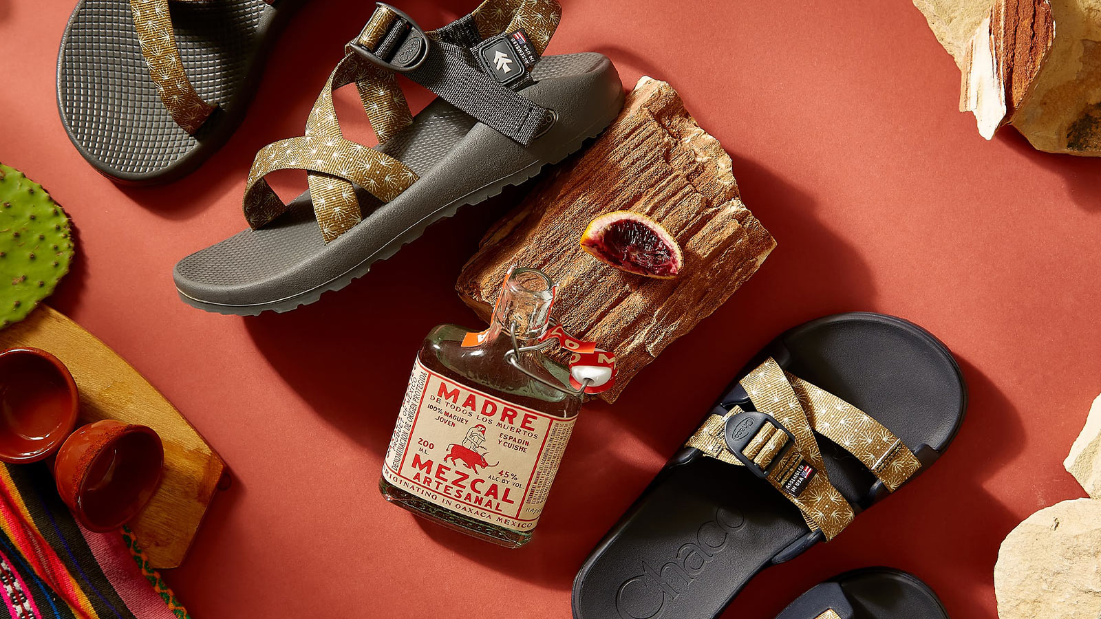 Chaco x Huckberry Agave Collection
