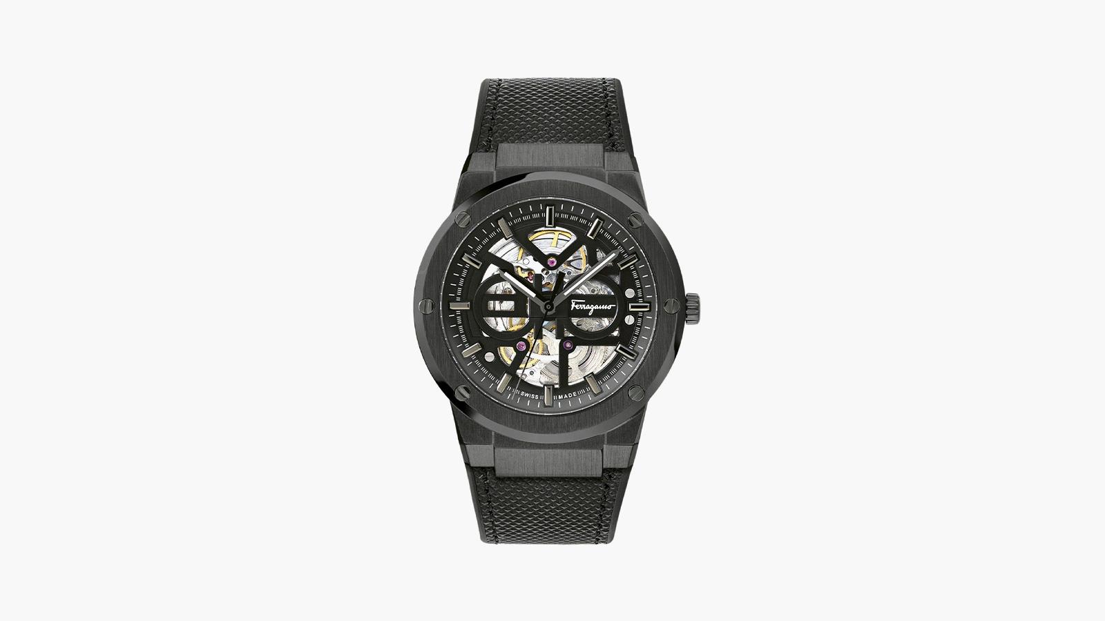 Ferragamo F-80 Skeleton Watch