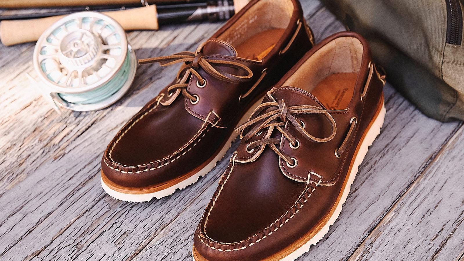 Huckberry x David Coggins Boat Shoe