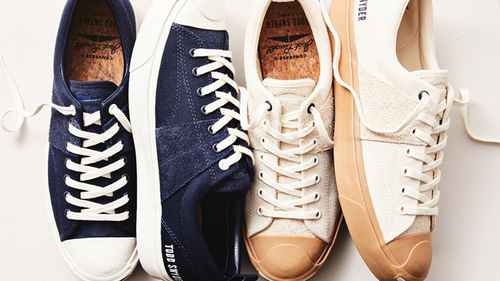 Todd Snyder x Converse Jack Purcell Collection