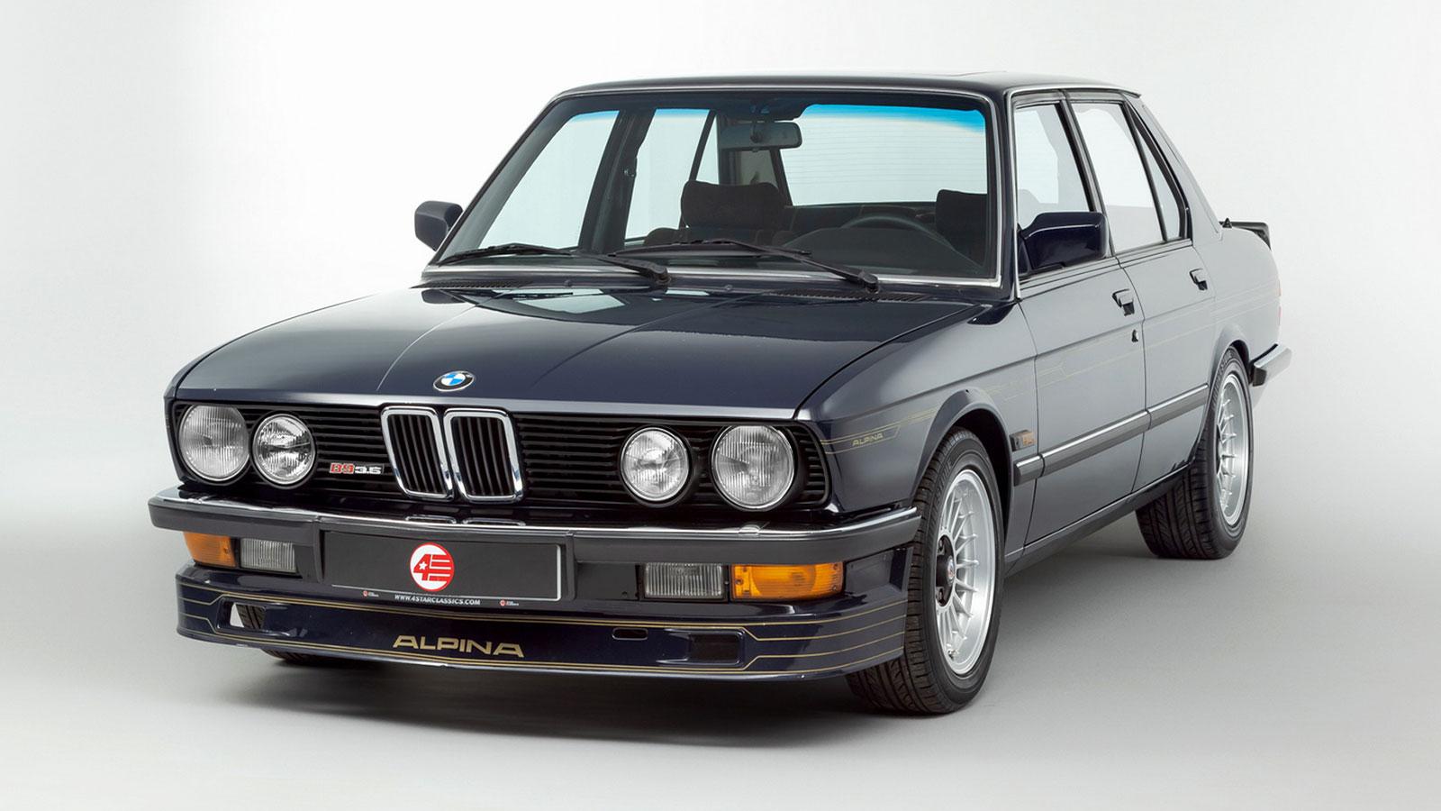 1983 E28 Alpina B9