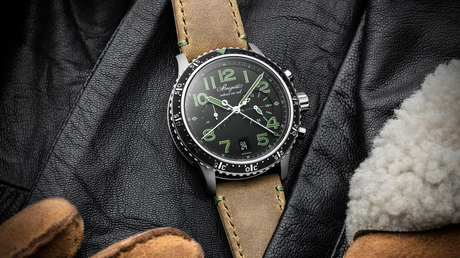 Breguet Type XXI 3815 Titanium