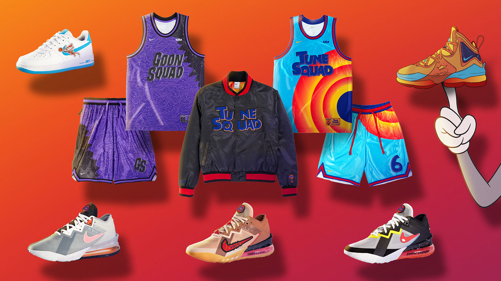 Nike 'Space Jam: A New Legacy' Collection