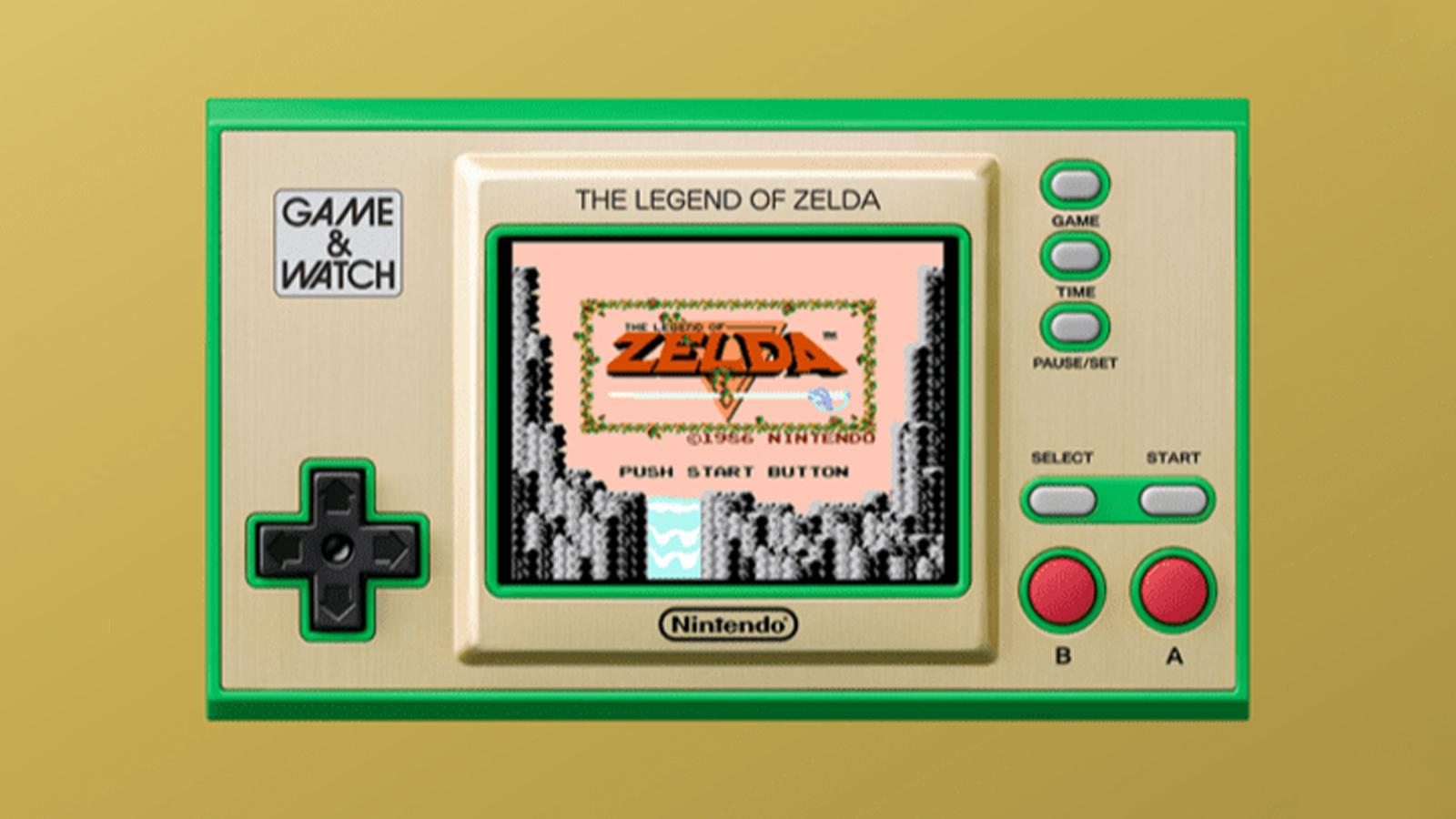 Nintendo Game & Watch: The Legend of Zelda System