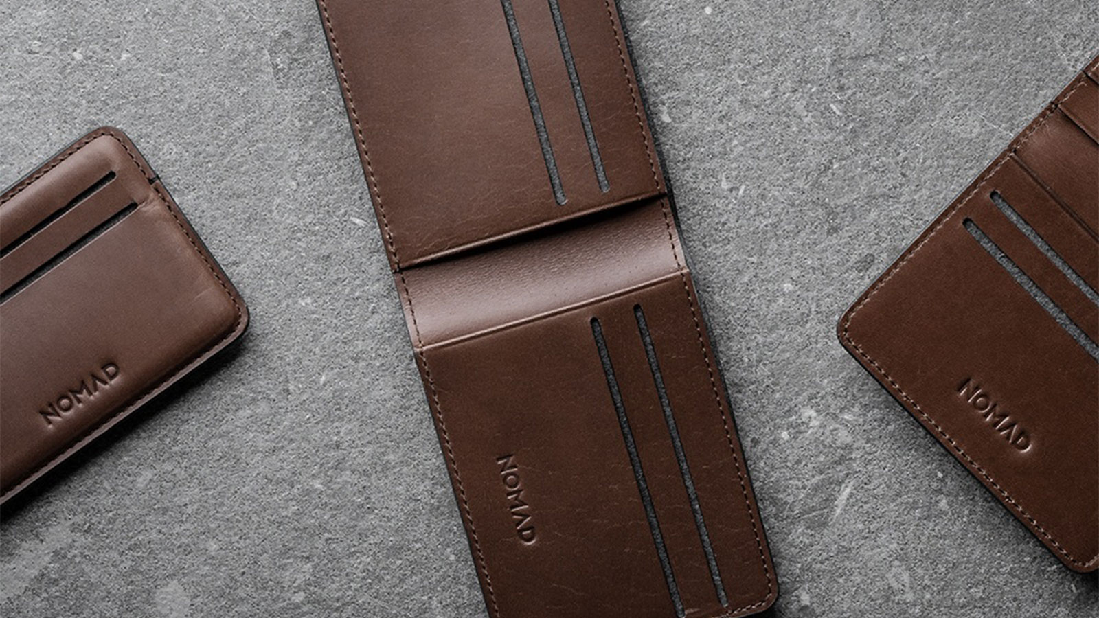 Nomad Thermoformed Wallets