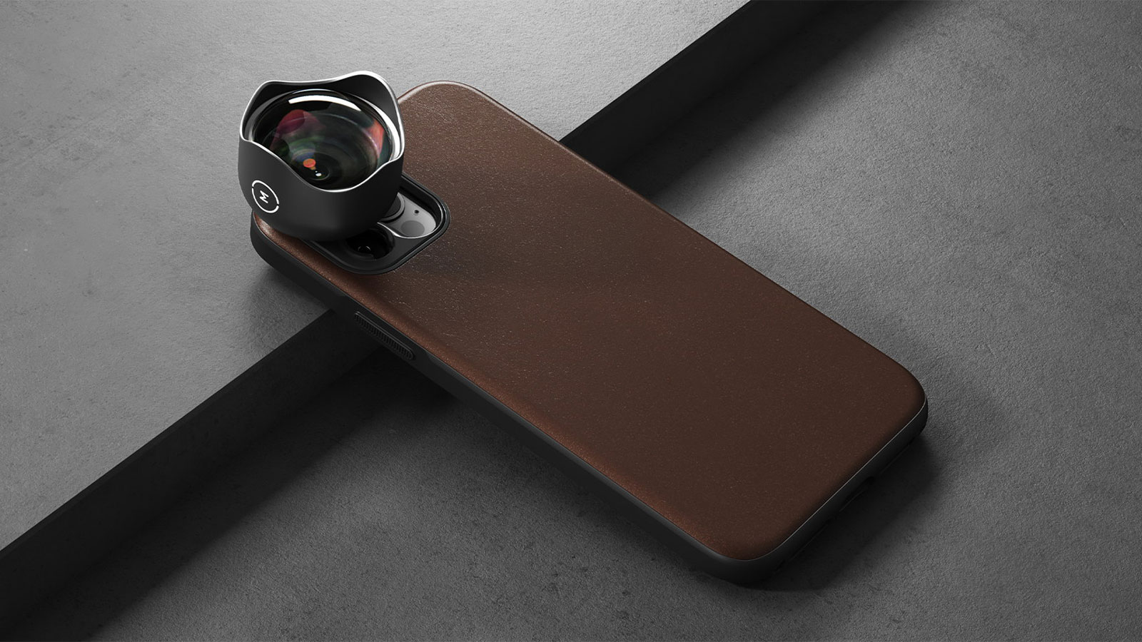 Nomad iPhone 12 Rugged Case with Moment Lens Compatibility