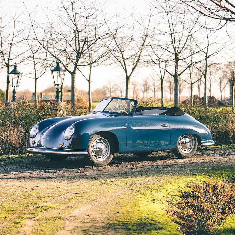 Porsche 356 Pre-A Gläser Cabriolet Split Window