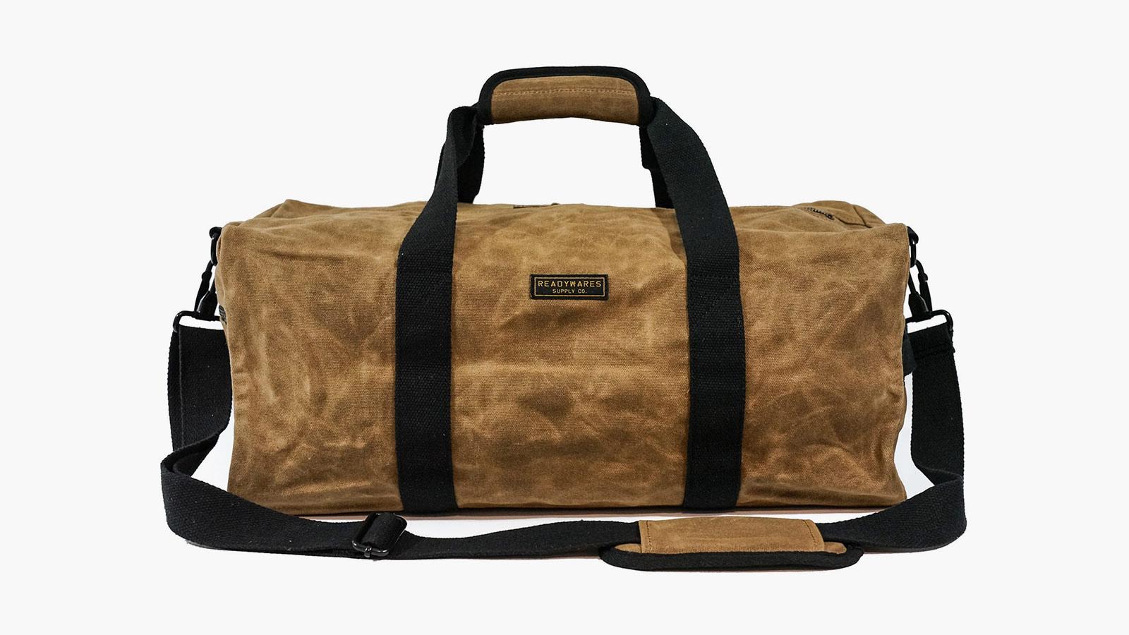 Readywares Waxed Canvas Duffel Bag