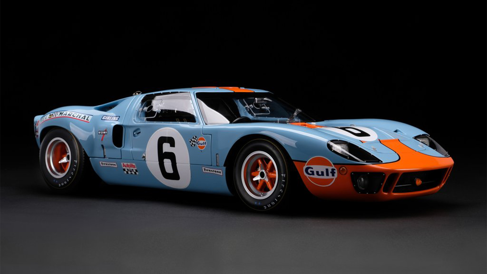 Amalgam Reveal First Images of Ford GT40 at 1:8 Scale