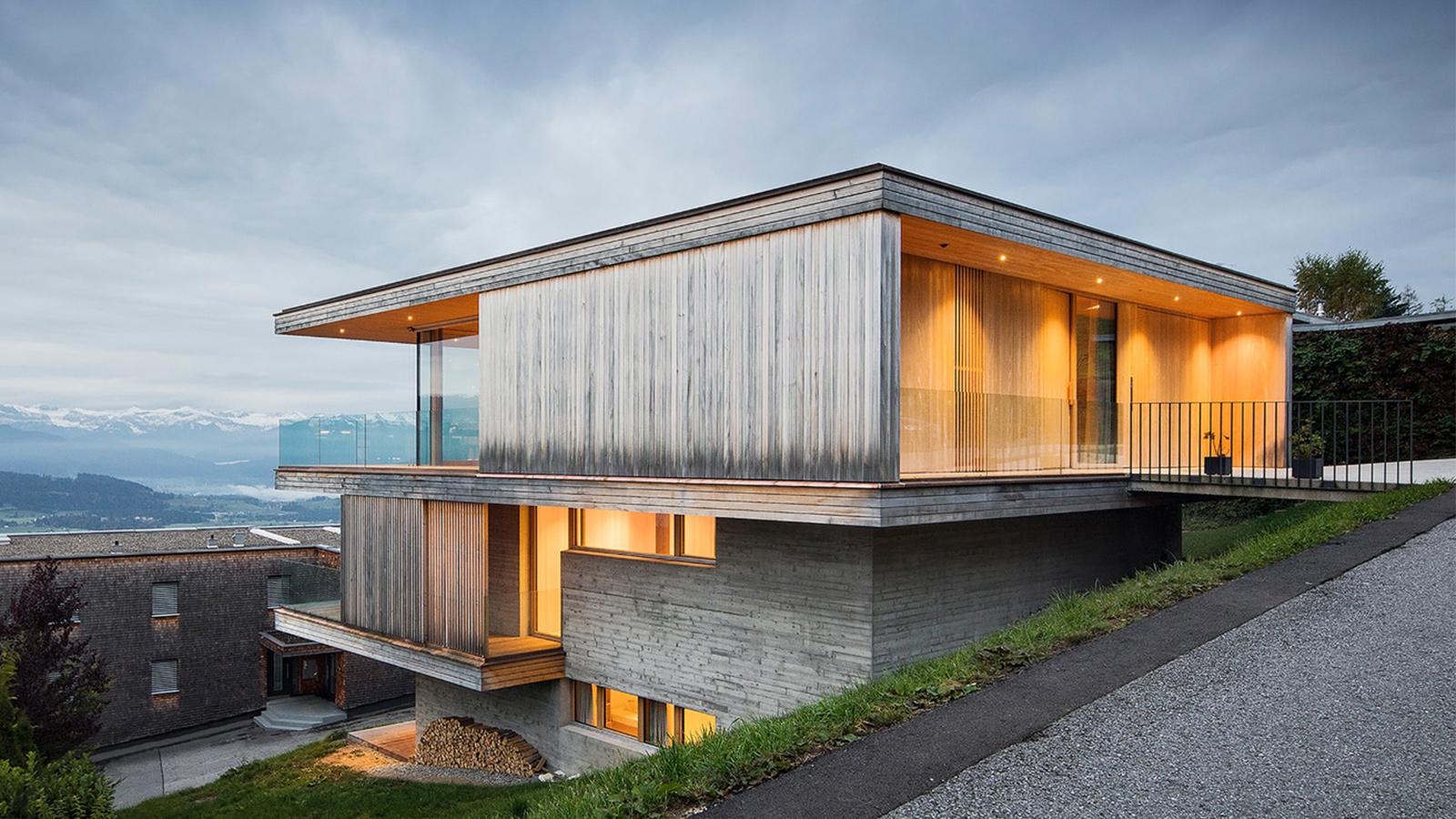 House K by Dietrich   Untertrifaller Architekten