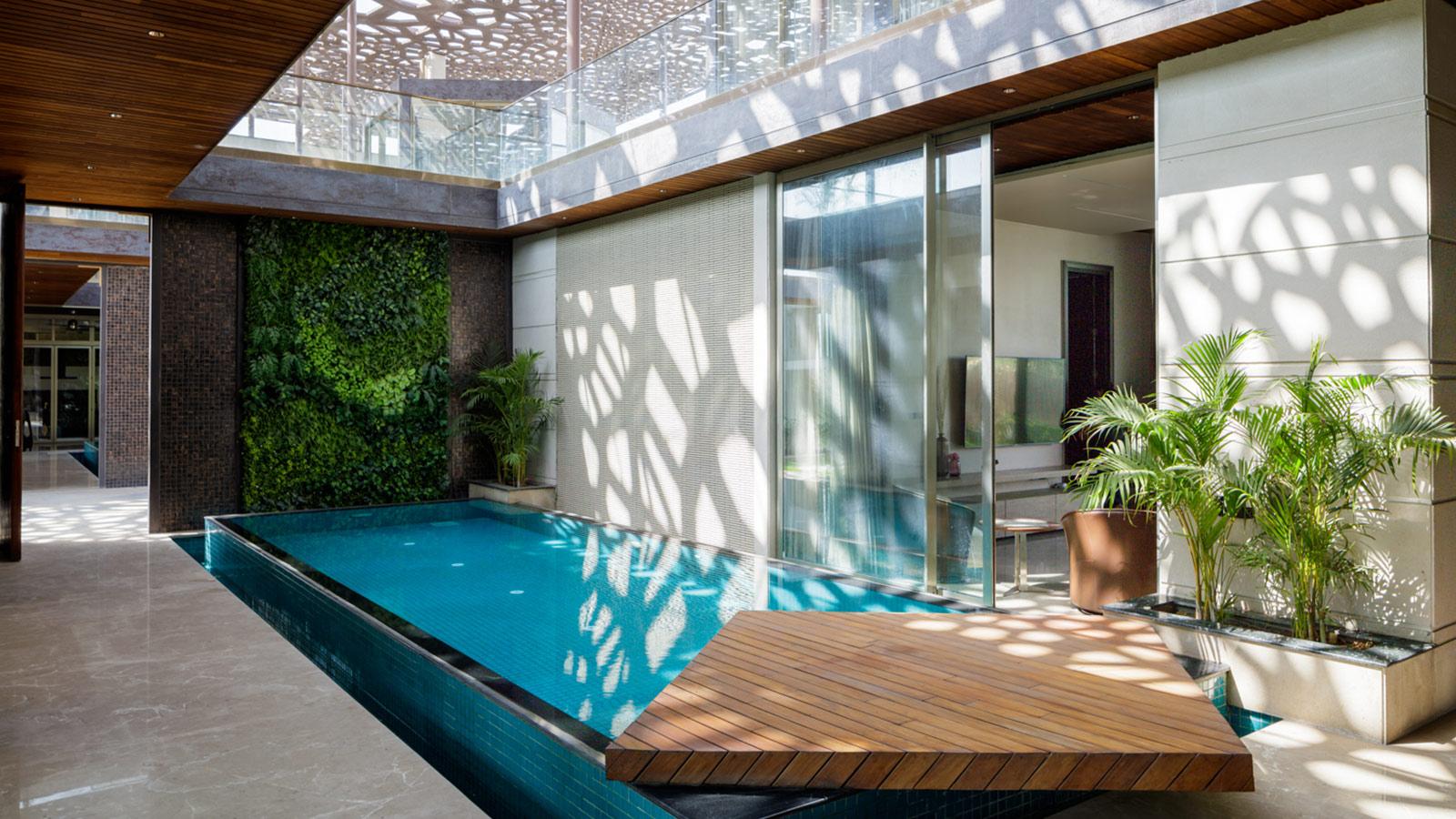 House Under Shadows by Zero Energy Design Lab