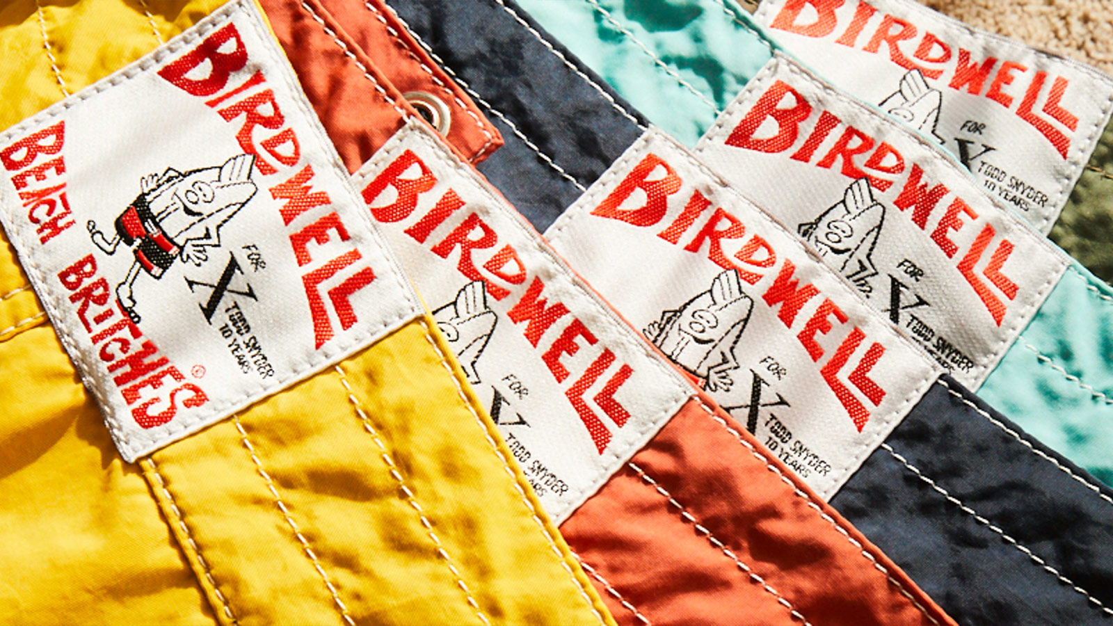 Todd Snyder x Birdwell Stone-Washed Swim Capsule Collection