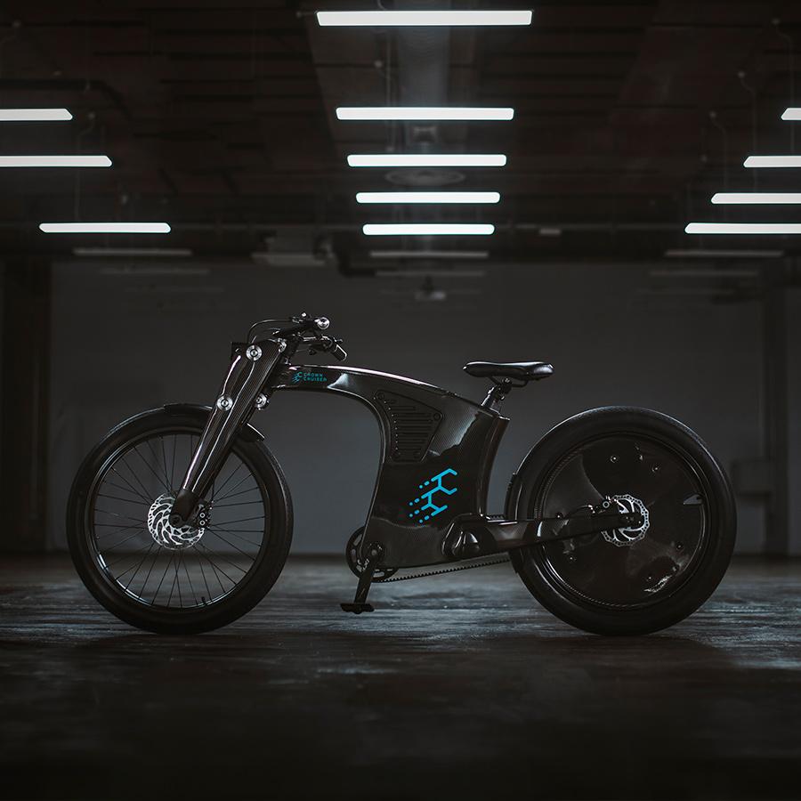 CrownCruiser Carbon Fiber e-Bike