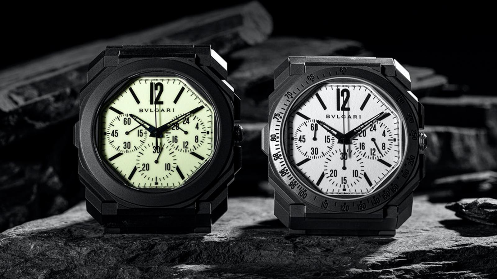 "Bulgari x The Rake and Revolution Octo Finissimo Ceramic Chronograph GMT ""Nuclear Option"""