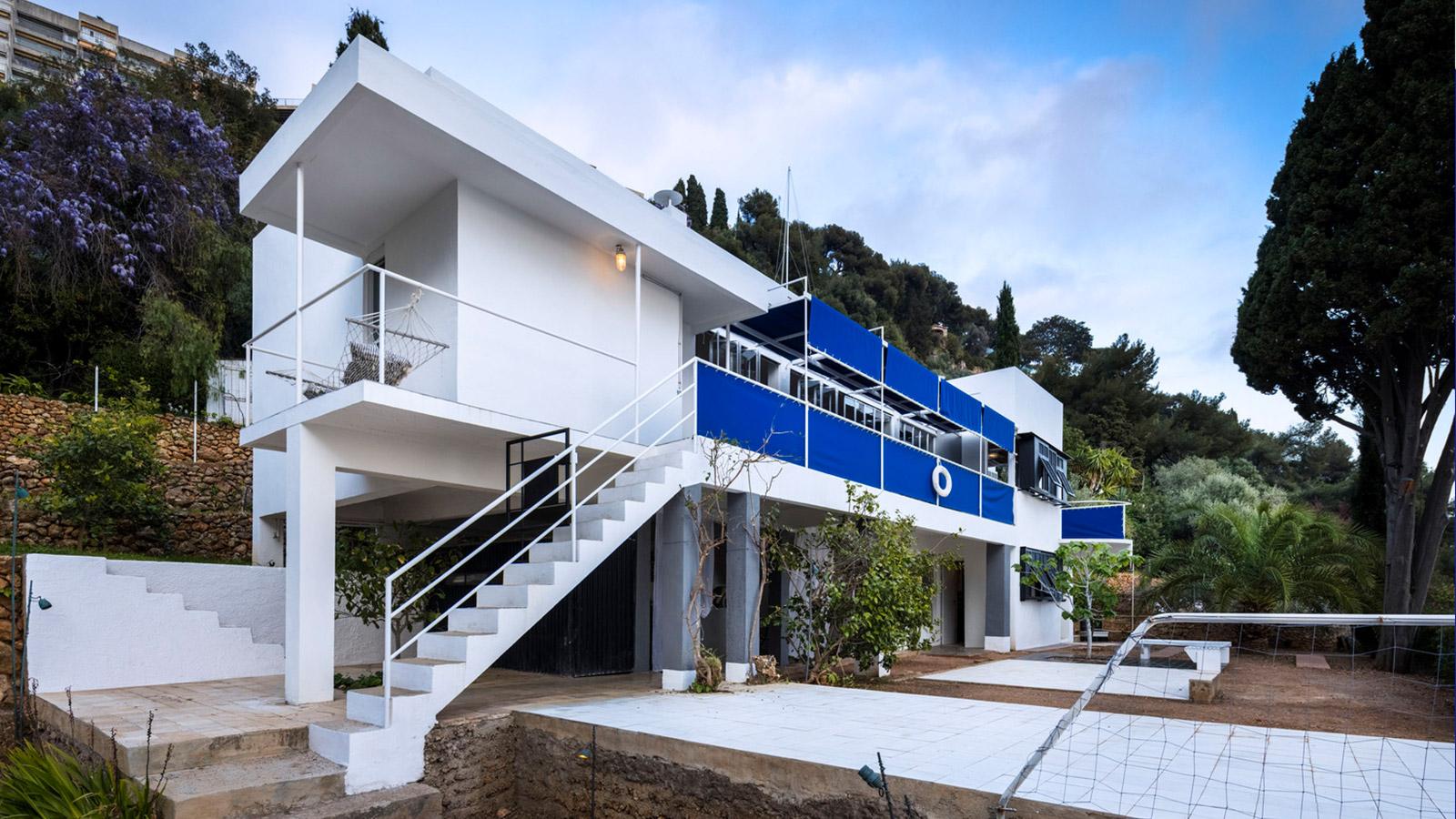 Eileen Grey's E-1027 Villa restored and open to the public
