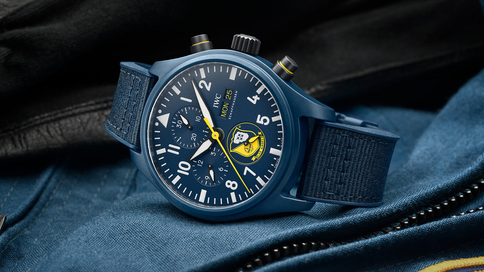 IWC Pilot's Watch Ceramic Chronographs inspired by the U.S. Navy Squadrons