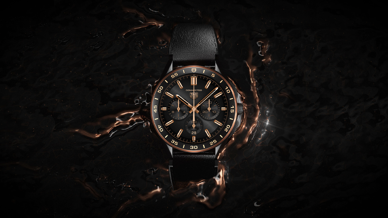 Tag Heuer Connected Bright Black Edition