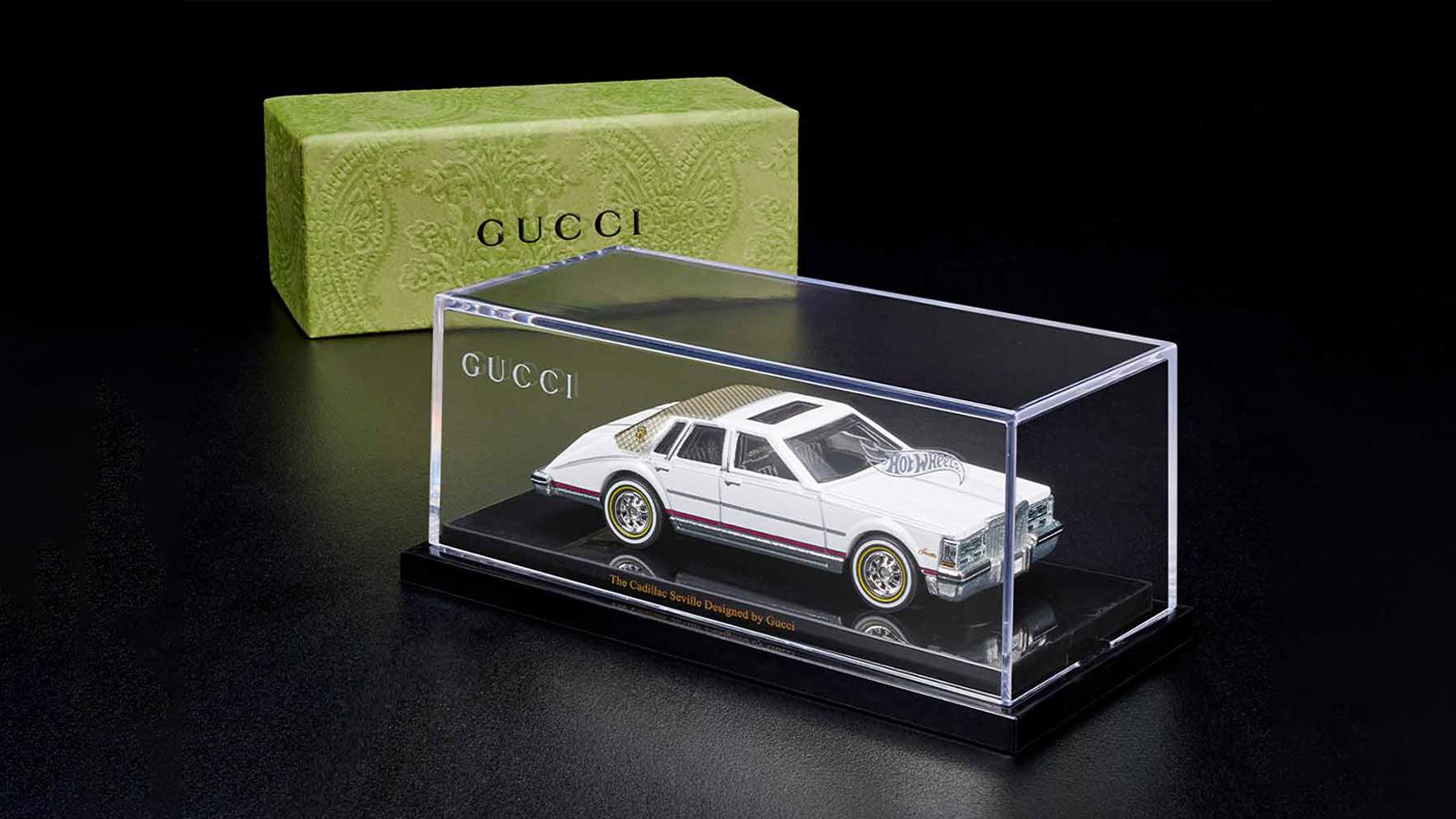 Gucci x Hot Wheels Cadillac Seville